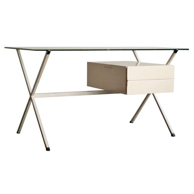 Desk Designed In 1958 By Franco Albini For Knoll International. 1