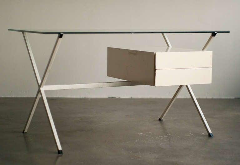 Desk Designed In 1958 By Franco Albini For Knoll International. 2