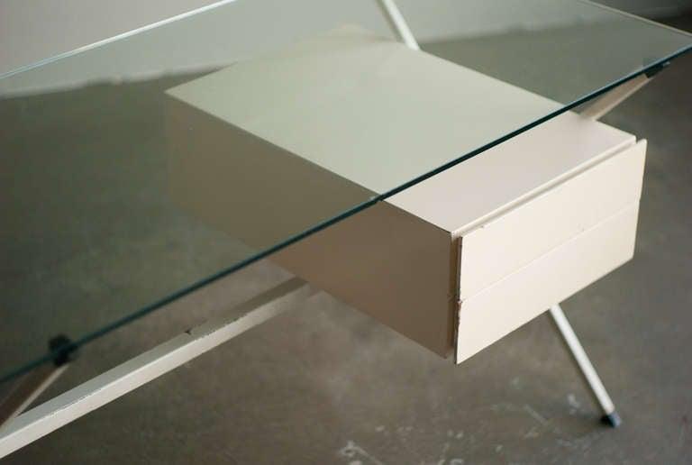 Desk Designed In 1958 By Franco Albini For Knoll International. 4