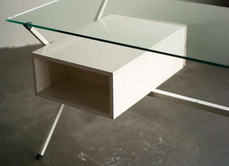 Desk Designed In 1958 By Franco Albini For Knoll International. 6