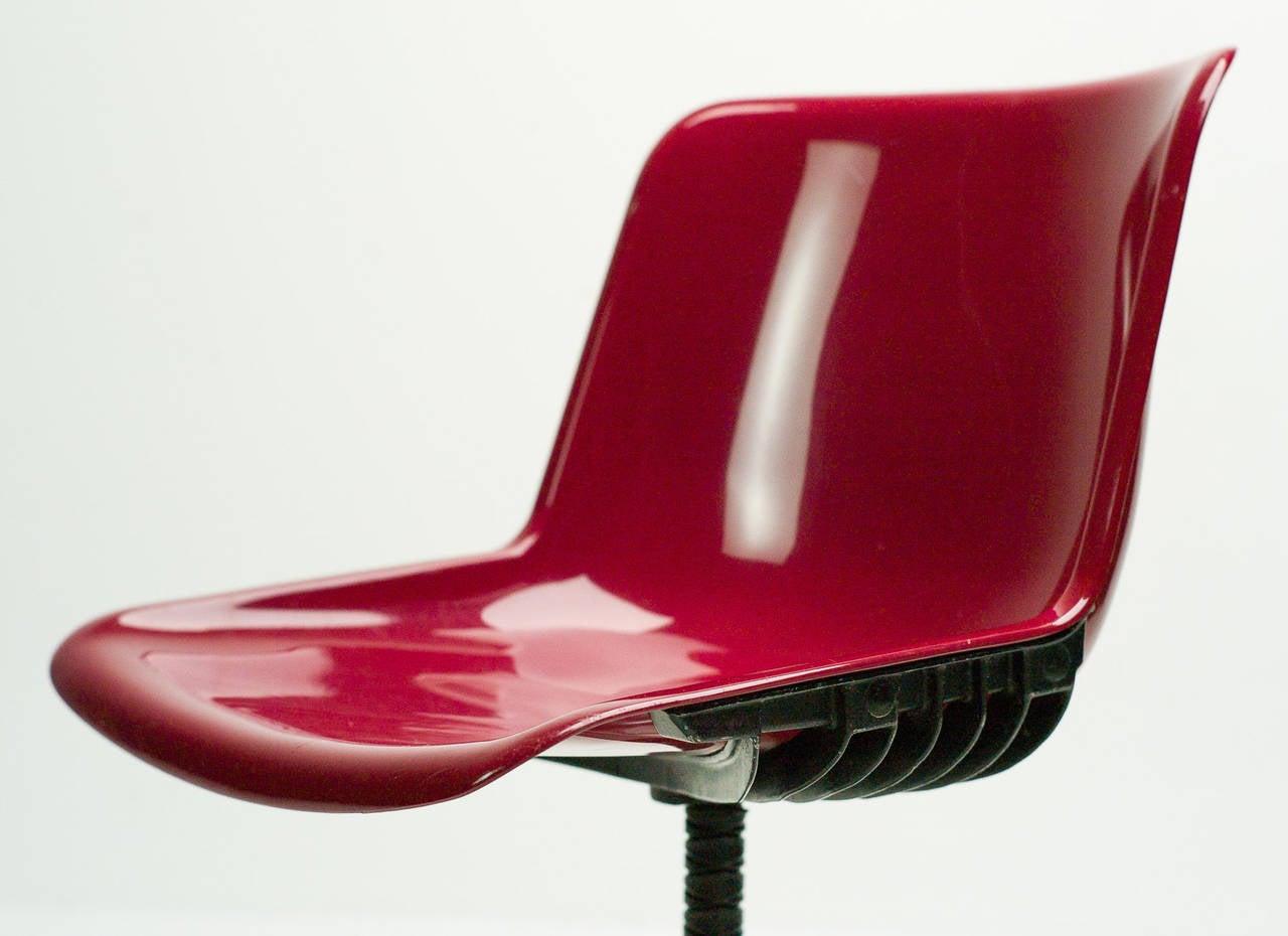 Set of Three Tecno Modus Chairs Designed by Osvaldo Borsani 6