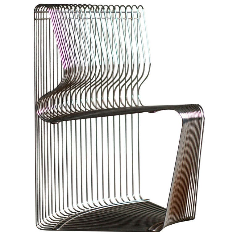 pantonova dining chair designed by verner panton for fritz hansen at 1stdibs. Black Bedroom Furniture Sets. Home Design Ideas