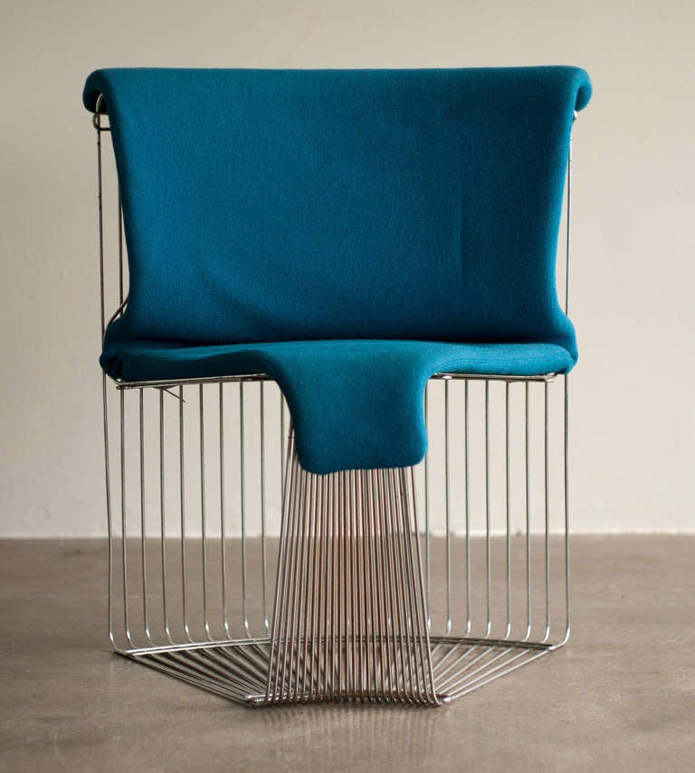 Pantonova dining chair designed by verner panton for fritz hansen for sale - Who designed the panton chair ...