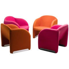 Ben Chairs Designed by Pierre Paulin for Artifort