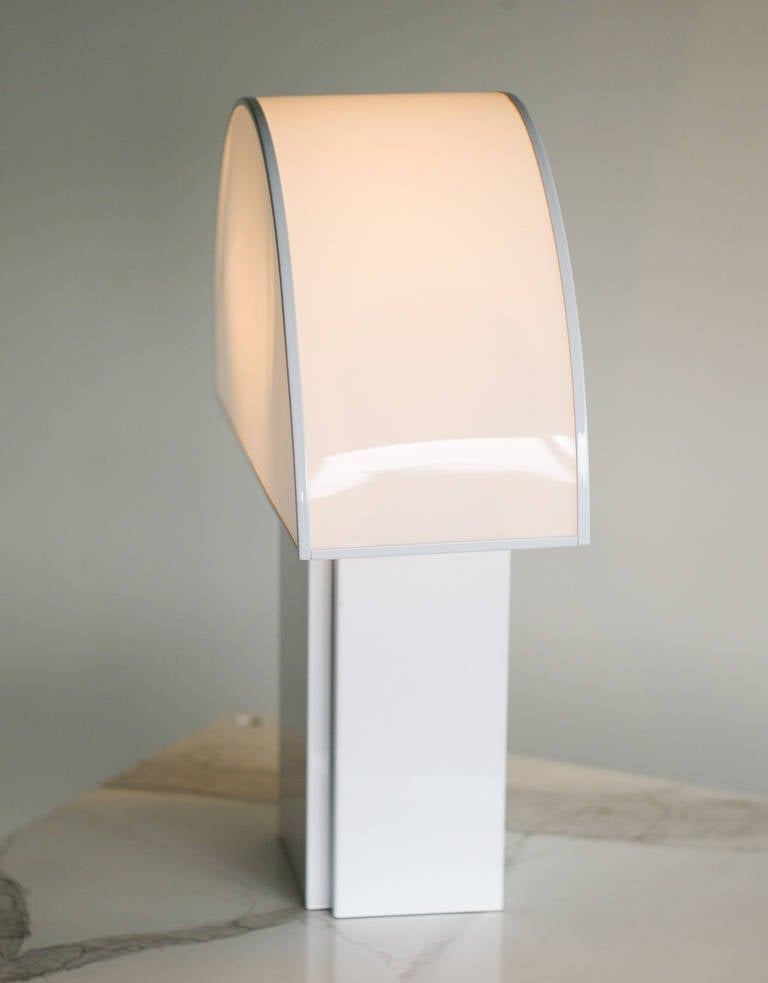 Large Olympe Table Lamp Attributed To Harvey Guzzini For