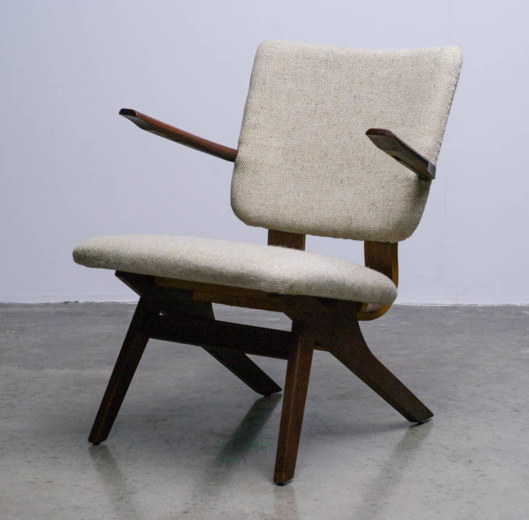 Dutch Mid-Century Modern Lounge Chair, 1952 2