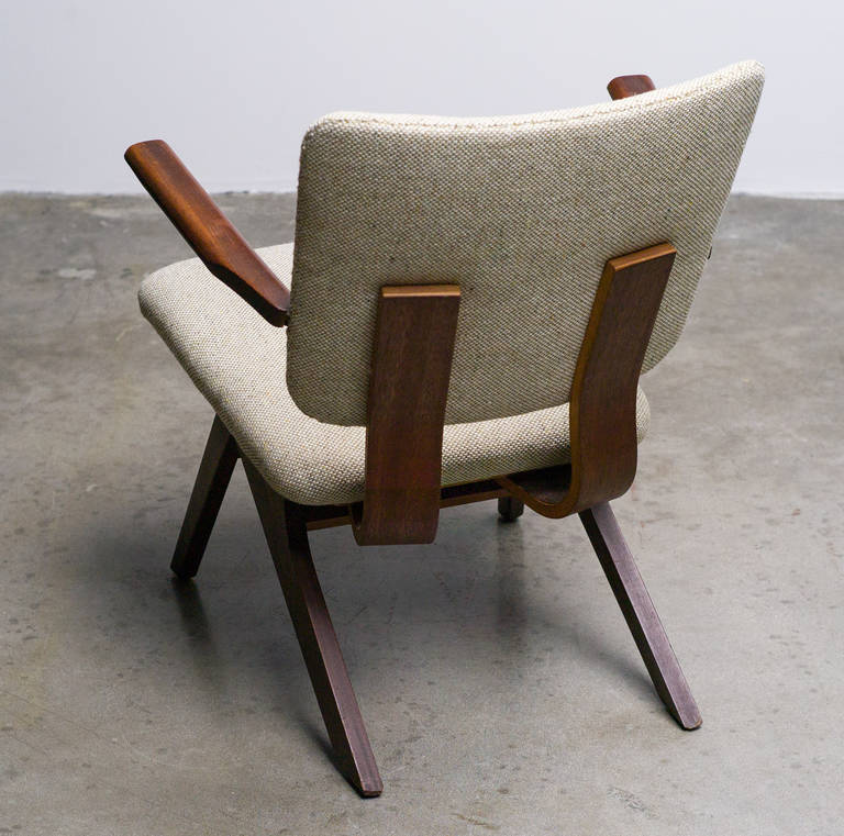 Dutch Mid-Century Modern Lounge Chair, 1952 3