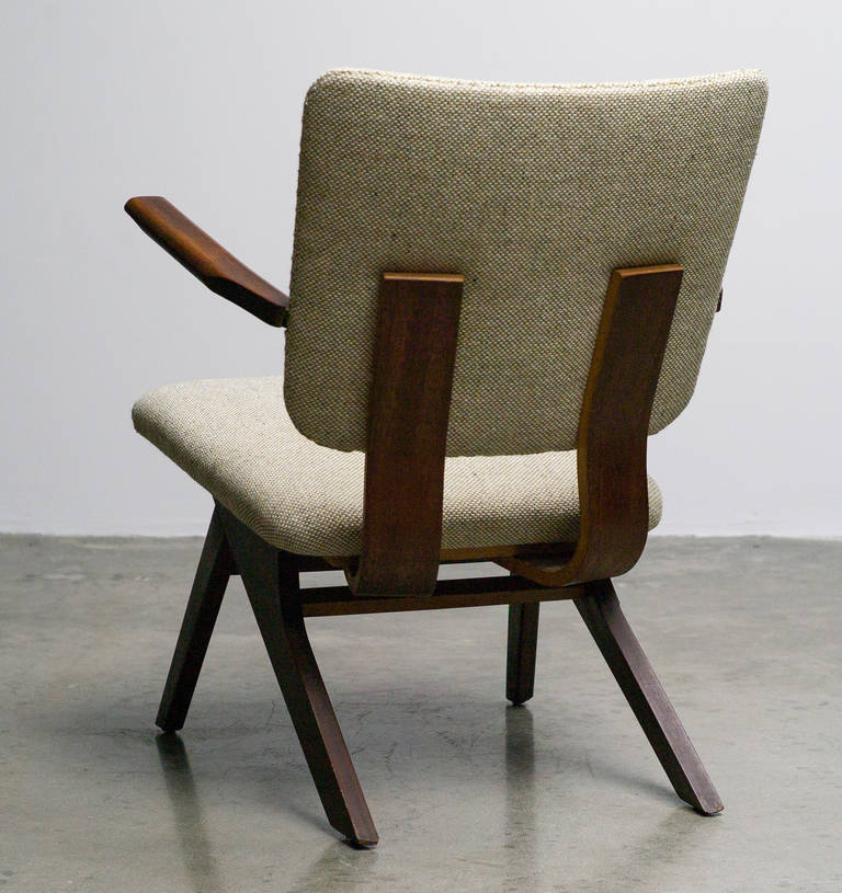 Dutch Mid-Century Modern Lounge Chair, 1952 6