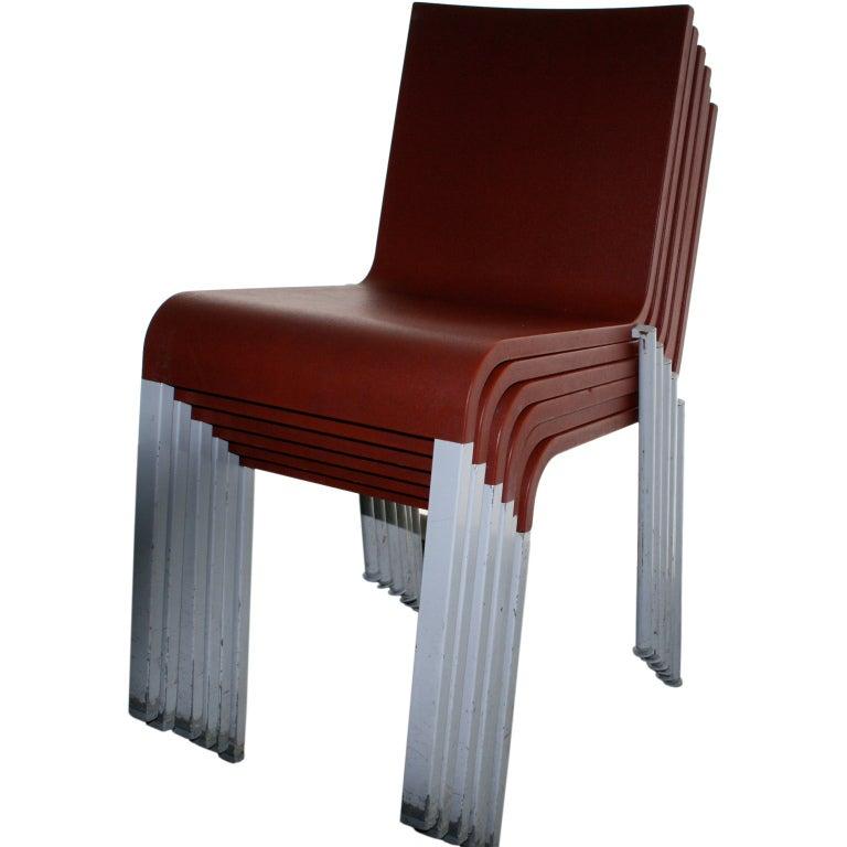 Maarten van severen 03 chairs at 1stdibs for Chaise 03 van severen