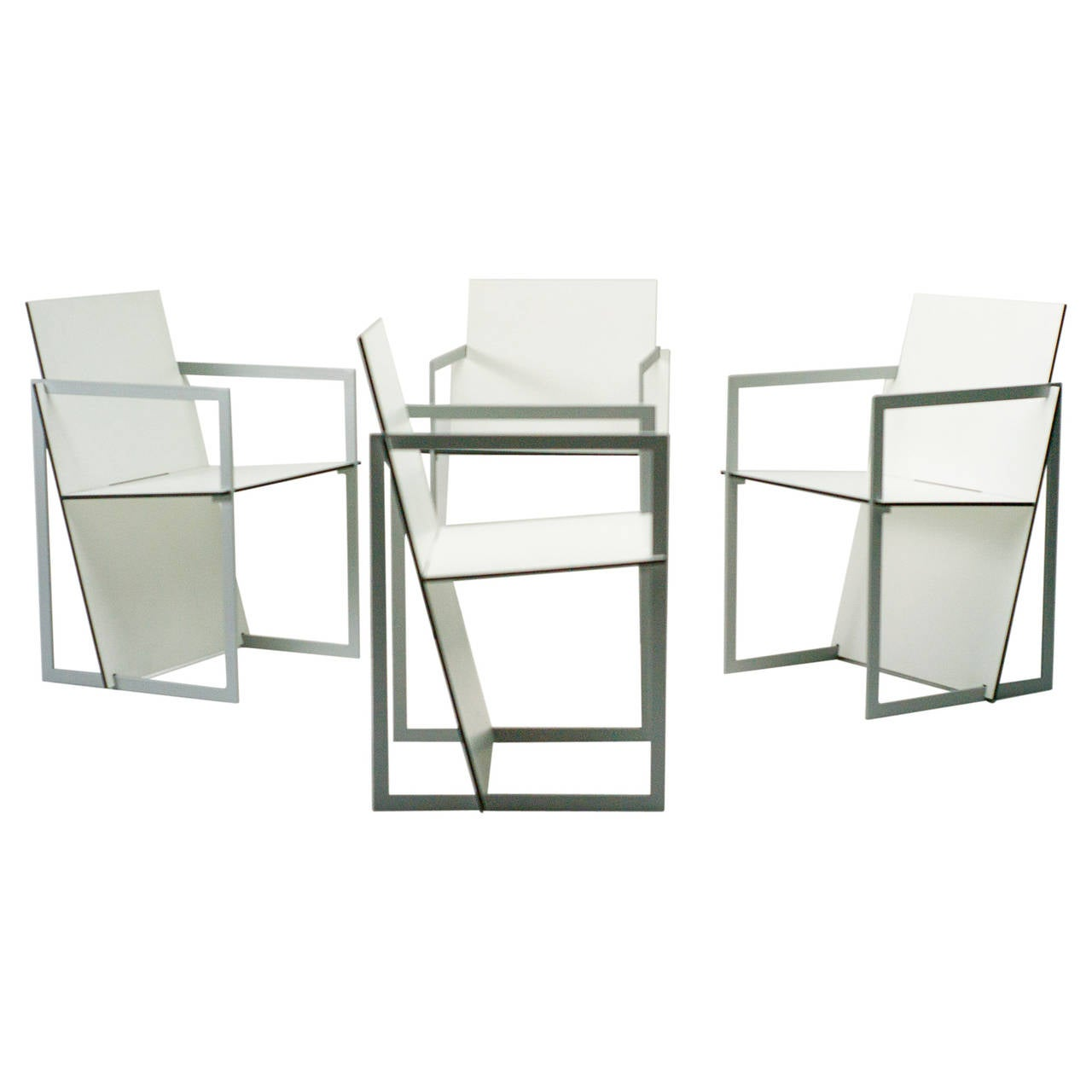 Dutch design spectro chairs inspired by de stijl and for Dutch design chair karton