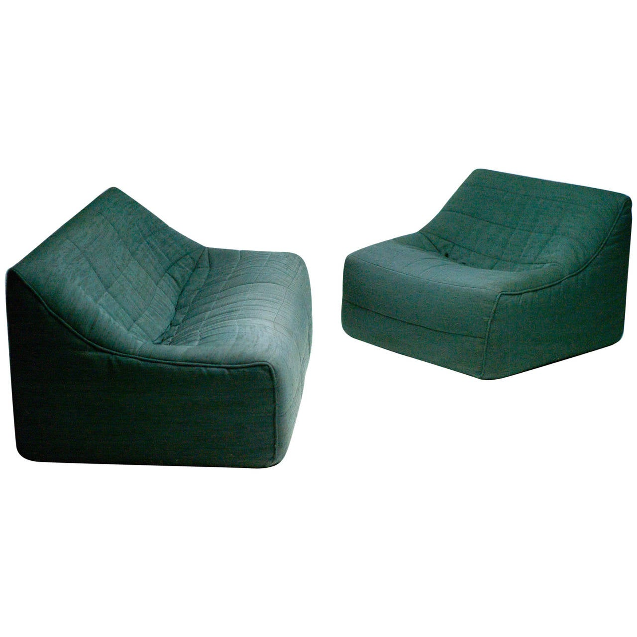 Nice Sofa And Chair By Michel Ducaroy For Ligne Roset 1