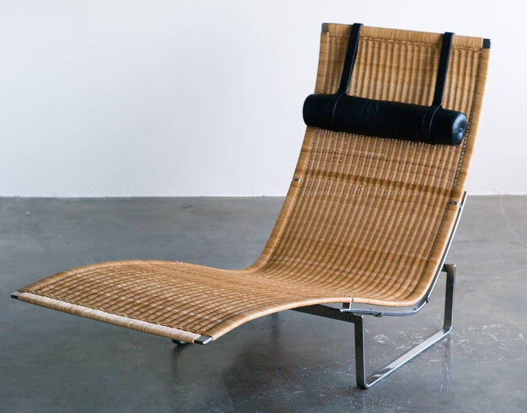 PK 24 Chaise Longue by Poul Kjaerholm for Fritz Hansen at 1stdibs