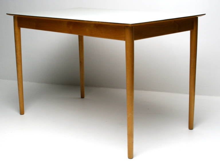 1950s kitchen table ash with formica top at 1stdibs - Formica top kitchen tables ...