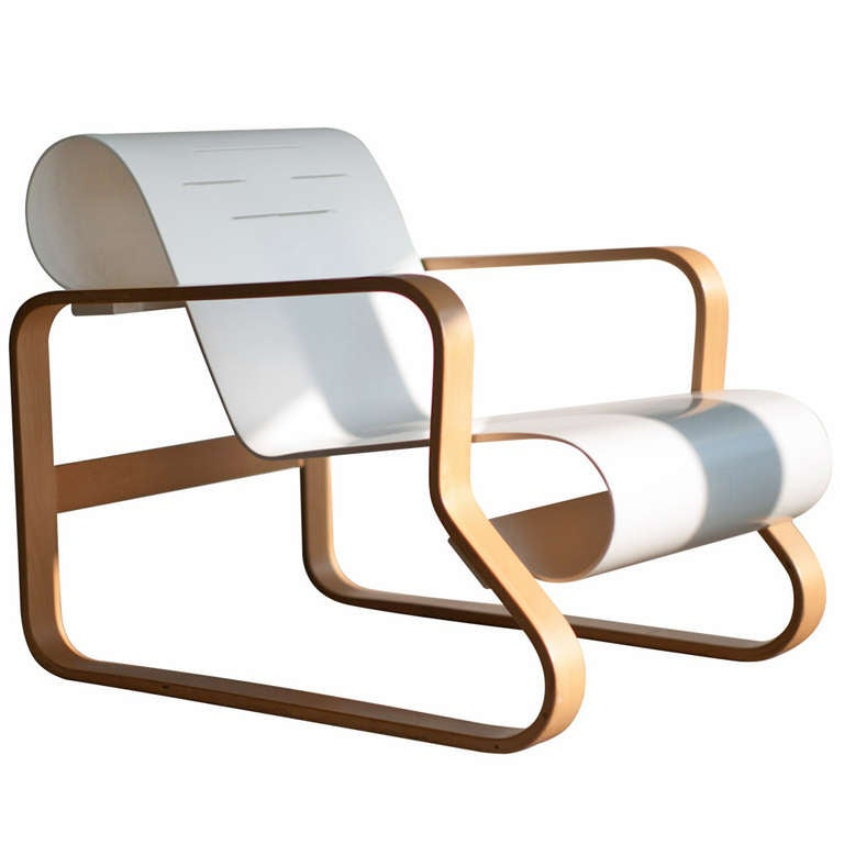Alvar aalto armchair 41 paimio chair at 1stdibs for Alvar aalto chaise