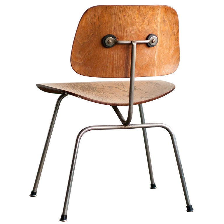 Early Charles And Ray Eames For Evans Dcm Chair For Sale