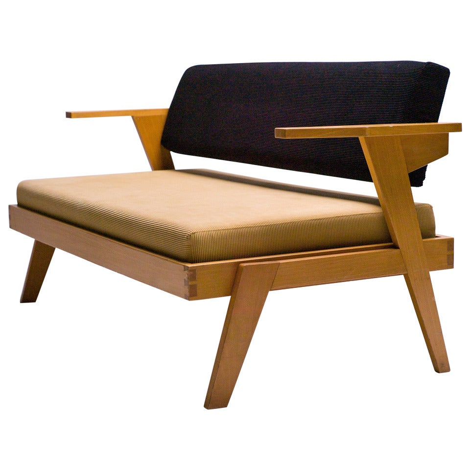 Dutch modernist bench daybed from 1965 at 1stdibs Daybed bench