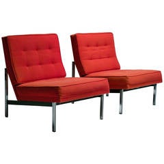 Florence Knoll Parallel Bar Chairs
