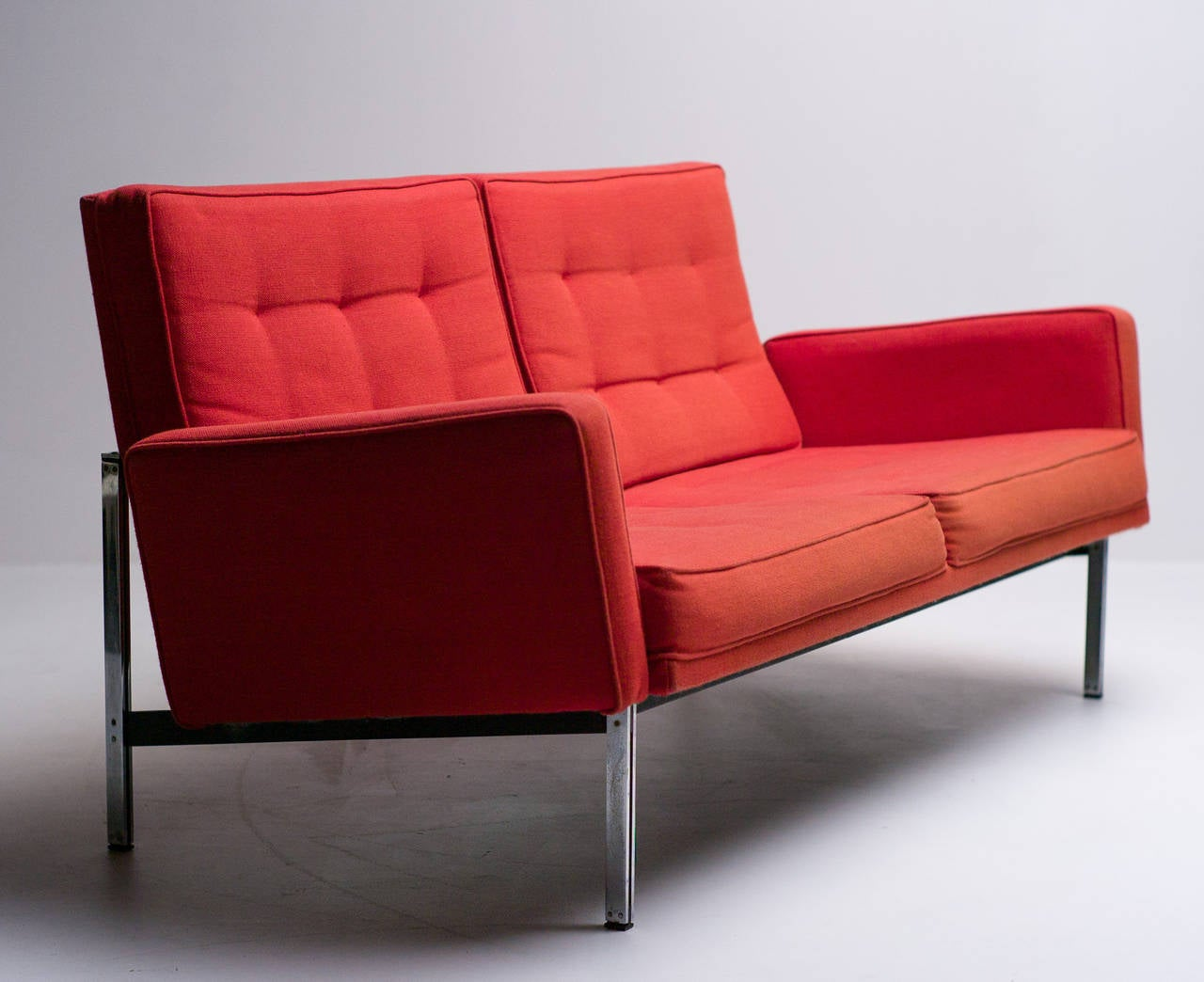 Florence Knoll No 56 Parallel Bar 2 Seater Sofa At 1stdibs