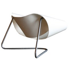Ribbon loungechair model no CL9, designed by Stagi and Leonardi.