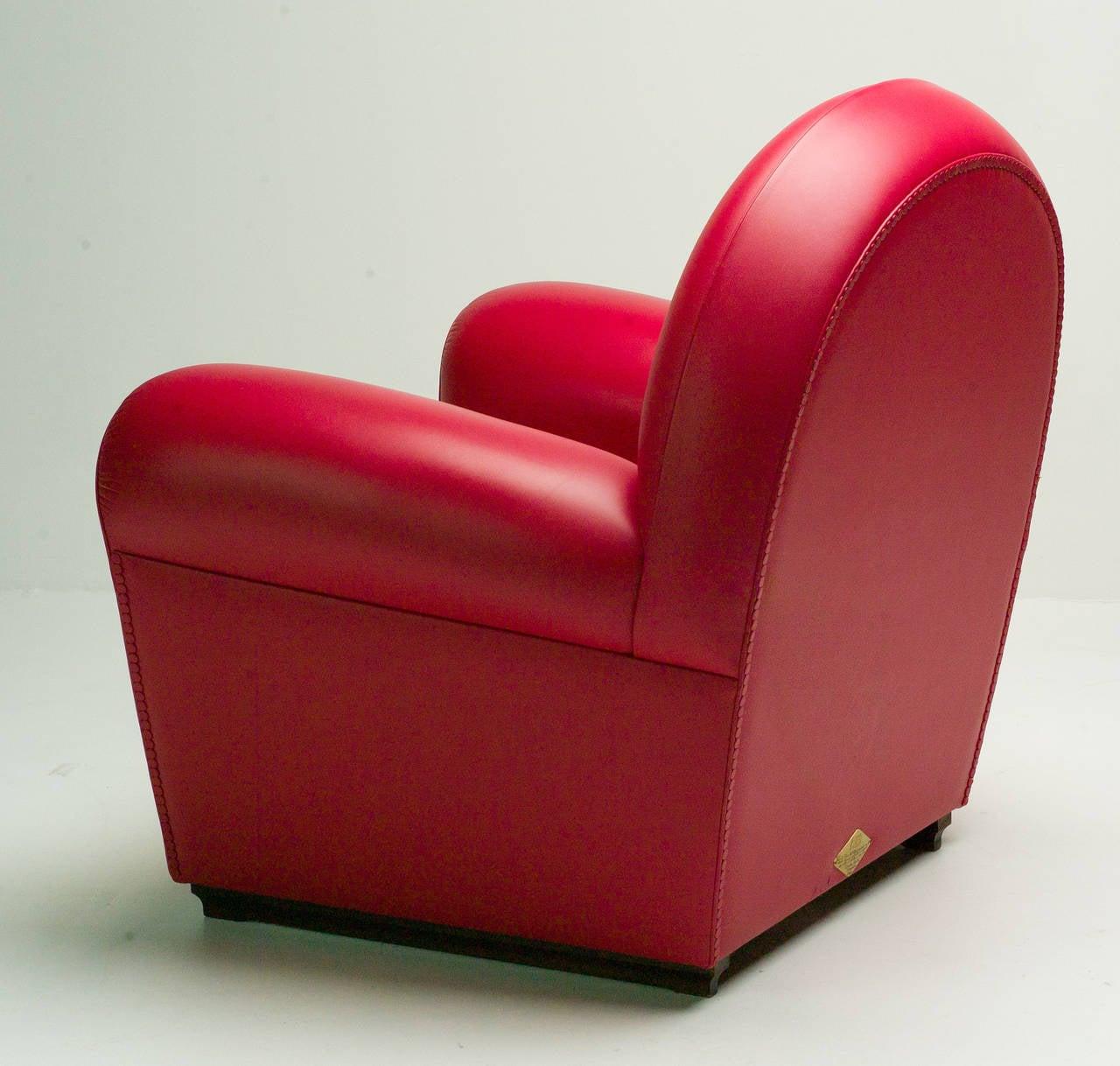 Poltrona Frau Vanity Fair Armchair by Renzo Frau For Sale at 1stdibs