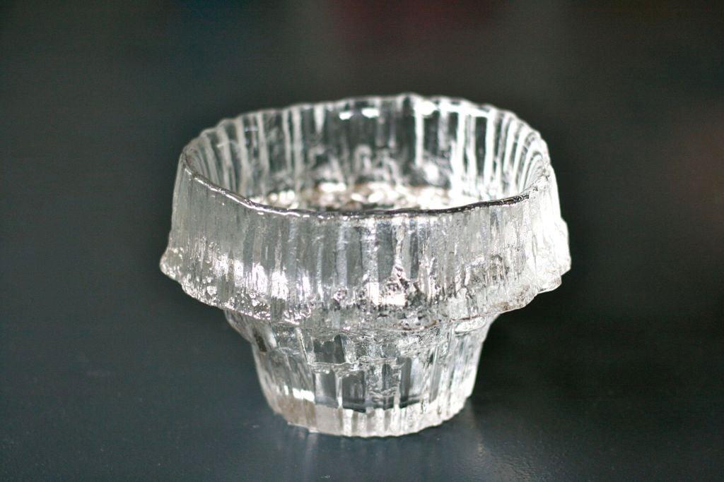 large tapio wirkkala stellaria bowl by iittala at 1stdibs. Black Bedroom Furniture Sets. Home Design Ideas