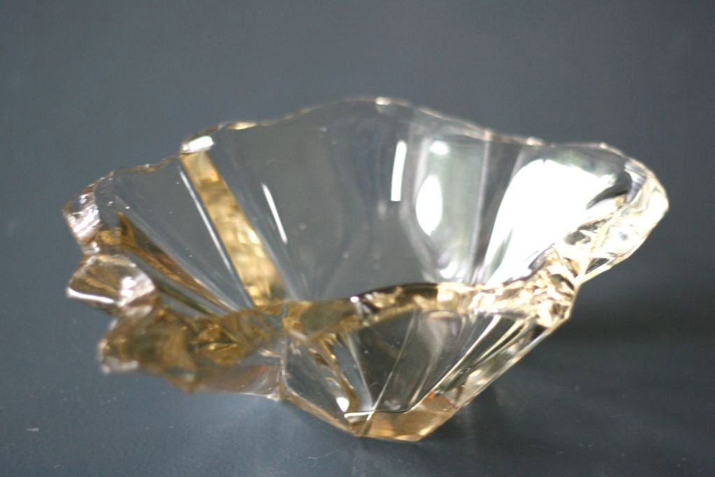 """Tapio Wirkkala's """"Jaansaro"""" or """"Iceblock"""" bowl # 3847 by Iittala 4"""