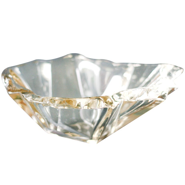 """Tapio Wirkkala's """"Jaansaro"""" or """"Iceblock"""" bowl # 3847 by Iittala"""