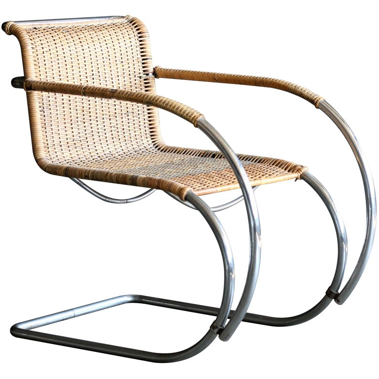 MR20 Lounge Chair By Ludwig Mies Van Der Rohe Berliner Metall 1