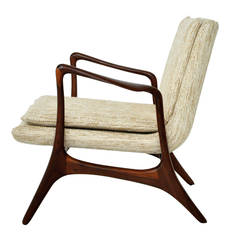 Vladimir Kagan Sculptural Lounge Chair