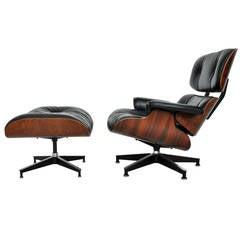 Rosewood Charles Eames Lounge Chair, Herman Miller