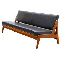 Arne Wahl Iversen by Komfort Teak Sofa and Daybed
