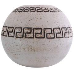 Large 1970's pottery vase