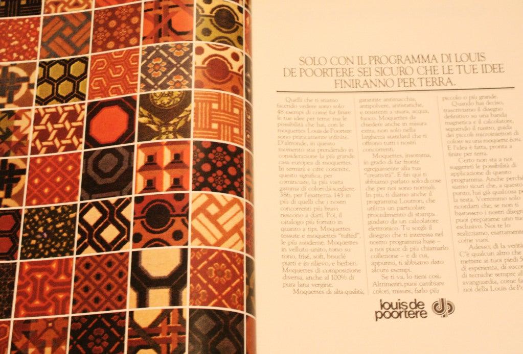 Original 1970 Rug By David Hicks For Louis De Poortere Be