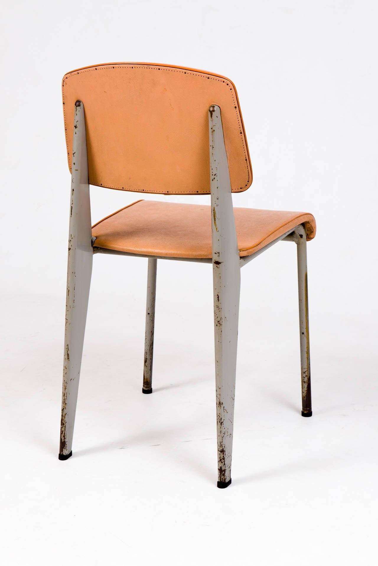 Standard Chair By Jean Prouv 233 For Les Ateliers De Jean