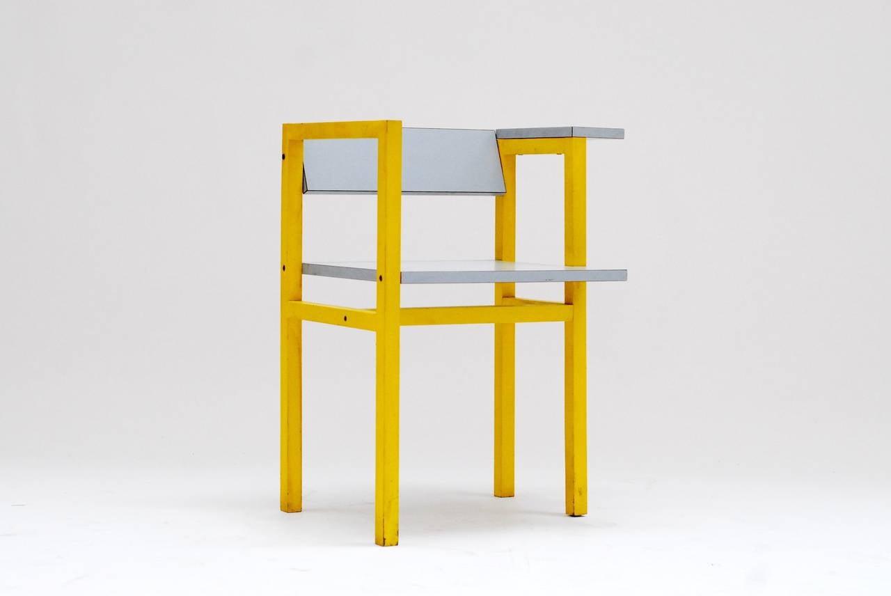 1975 Constructivist Modern Chair by Daniel Deltour 3