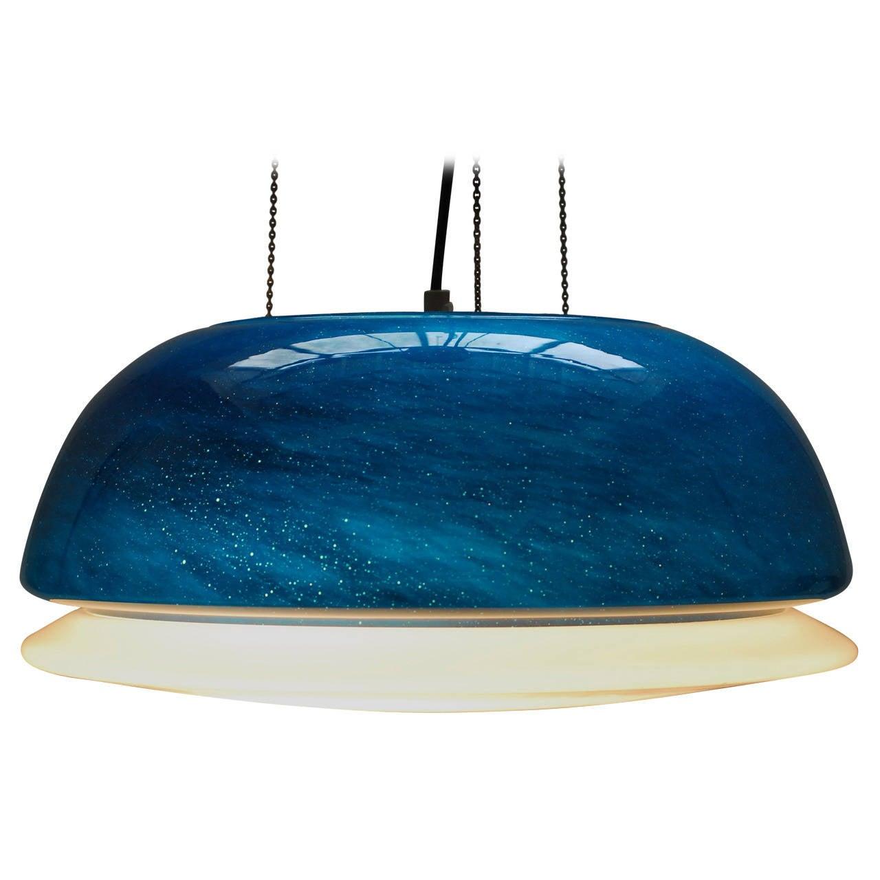 1960s Italian Murano Glass Ceiling Lamp At 1stdibs