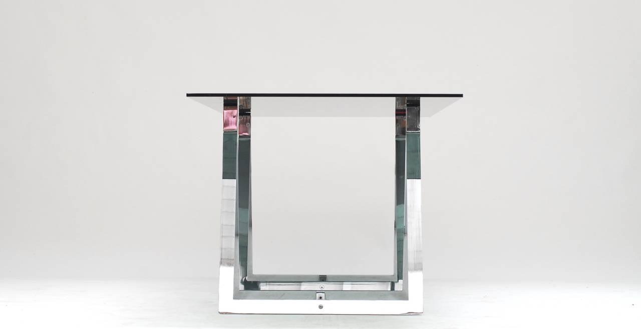 1960's Belgian Atelier sawhorse desk table 2