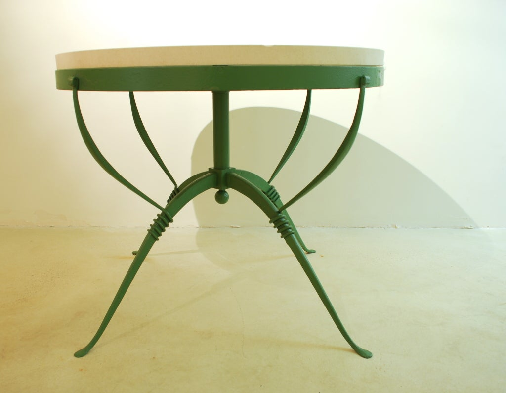 1930 39 s art deco center table by raymond subes maison for Decoration maison 1930 renove