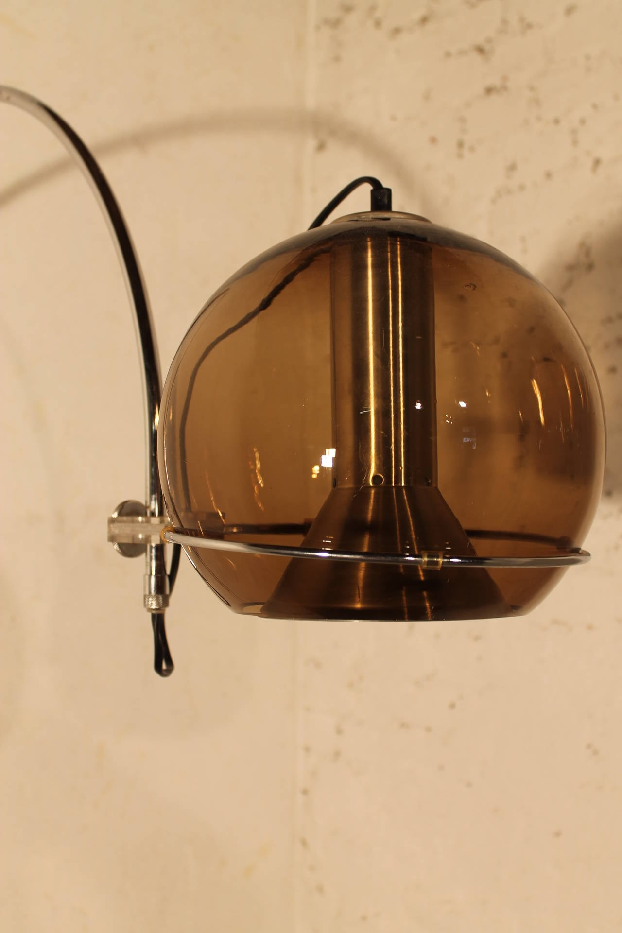 Glass Globe Wall Lamp by RAAK Holland at 1stdibs