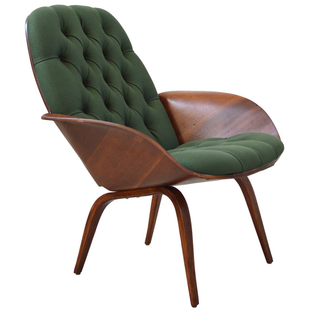 Plycraft Bentwood Lounge Chair by George Mulhauser at 1stdibs