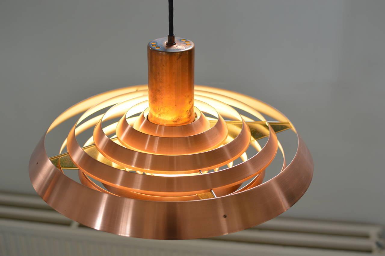poul henningsen louis poulsen 1958 langelinie plate lamp at 1stdibs. Black Bedroom Furniture Sets. Home Design Ideas