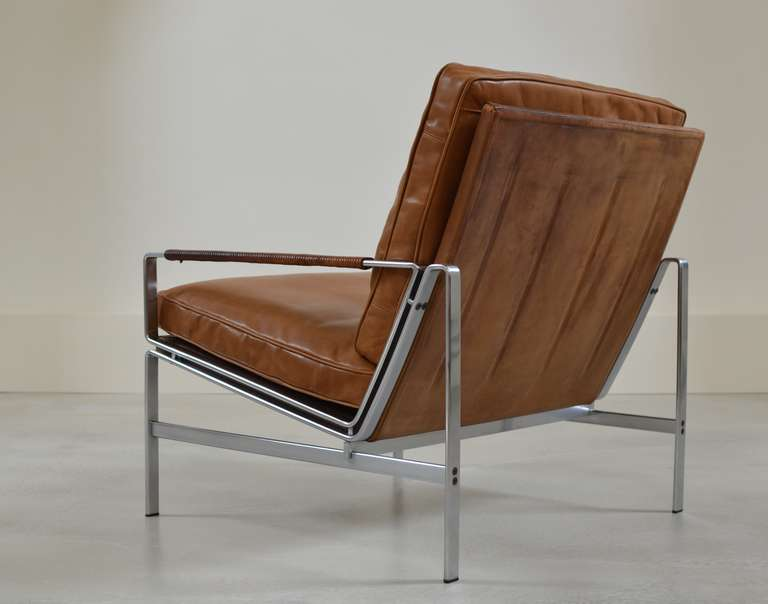Preben Fabricius And J 248 Rgen Kastholm Arm Chair At 1stdibs