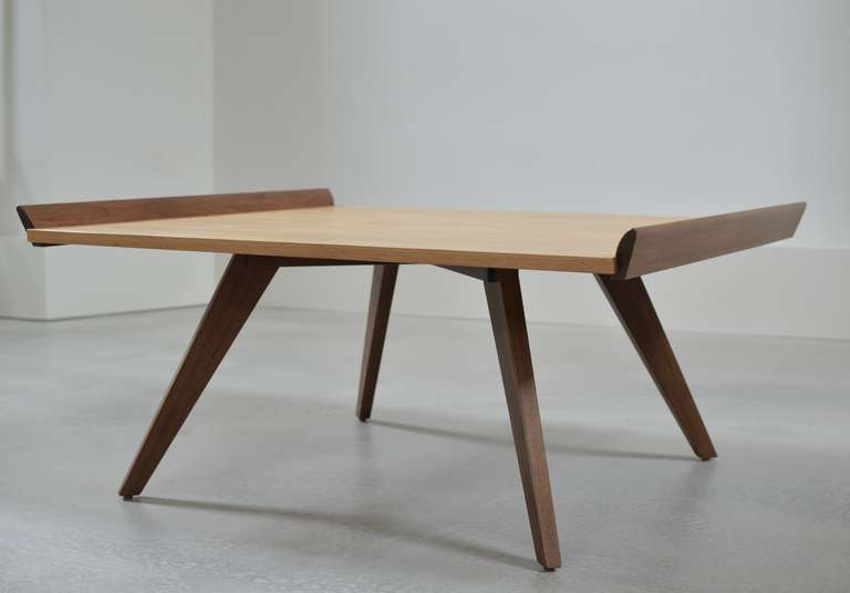 Marvelous Splay Leg Table By George Nakashima By Knoll International. Table Top In  Hickory. Legs