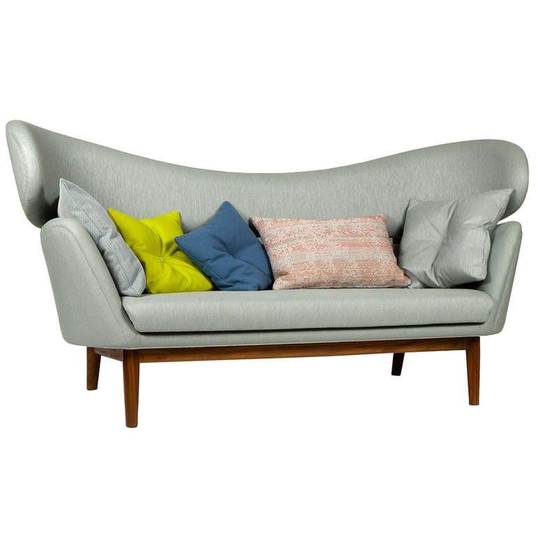 Finn Juhl Baker Sofa With Variety Of Cushions At 1stdibs
