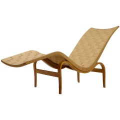Early Bruno Mathsson Chaise model 36 by Karl Mathsson