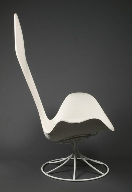American Tulip chair by Erwin and Estelle Laverne For Sale