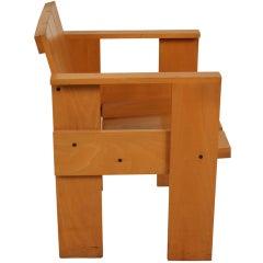 Dutch Design Gerrit Rietveld Crate Chair Cassina