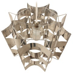 Max Sauze metal lamp French design