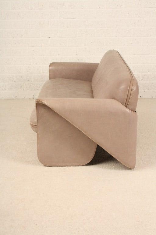 de sede ds 125 sofa and chair gerd lange 1970 39 s at 1stdibs. Black Bedroom Furniture Sets. Home Design Ideas