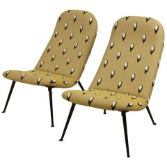 Dutch Set of Artifort Theo Ruth Chairs